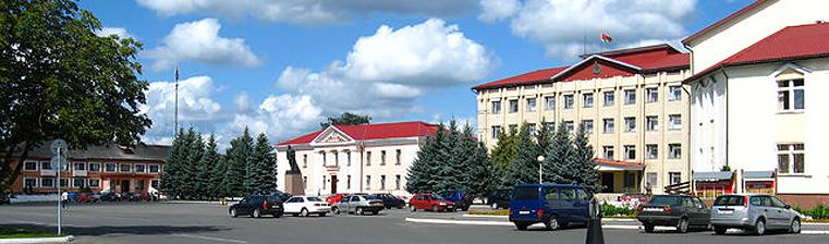 Площадь города